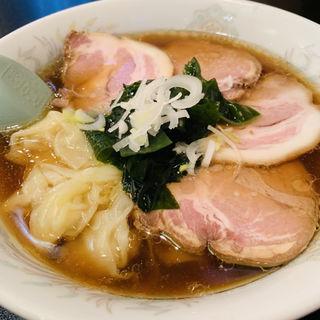 チャーシューワンタン麺(博雅)