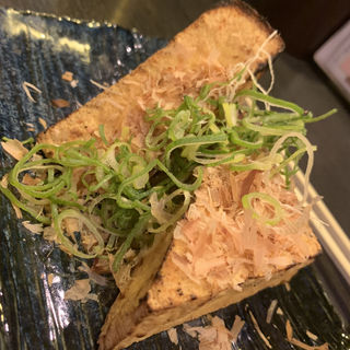 厚揚げ(炭火バルsakura)
