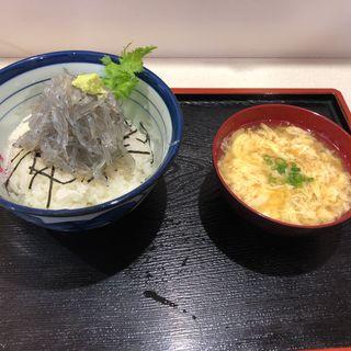 生しらす丼(渡舟 )