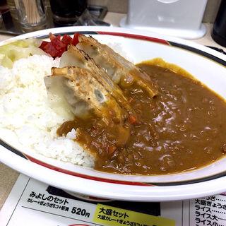 ぎょうざカレー(みよしの 日劇店)