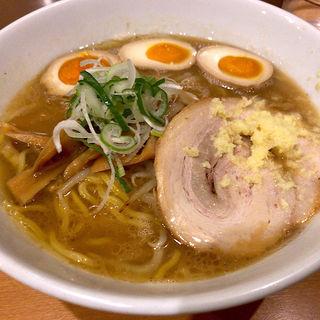 味噌らーめん+燻製玉子(麺屋 すずらん)