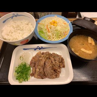 牛焼肉定食(松屋 西新宿8丁目店 (マツヤ))