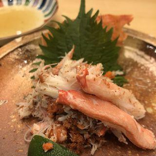 蟹(すし乾山 赤坂インターコンチホテル店 (けんざん))
