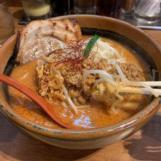 辛味噌ラーメン(焼豚1枚トッピング)(芝山商店 )