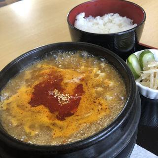 スンドゥブチゲ定食(韓国料理 はるはる)