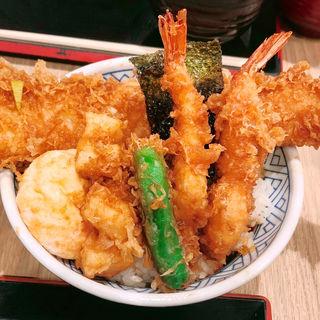 江戸前天丼(金子半之助 川崎ラゾーナ店)