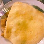 オムレツ(ポテト、ベーコンとチーズ)