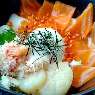 朝食(海鮮丼)(日本料理 北乃路)