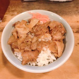 牛すじ丼ミニ(兎に角 )