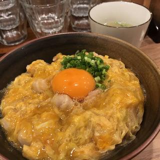 特上親子丼(親子丼専門店◯勝)