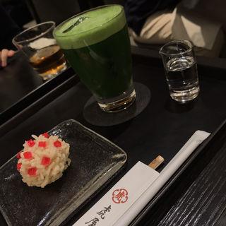 抹茶グラッセ(虎屋菓寮 新宿伊勢丹店 (とらやかりょう))