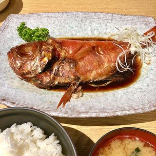 金目鯛の煮付け定食(魚河岸 丸天 みなと店 )