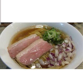 鴨らぁ麺(らーめん 鴨to葱)