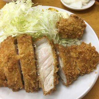 上ロースかつ定食(山家 上野店)