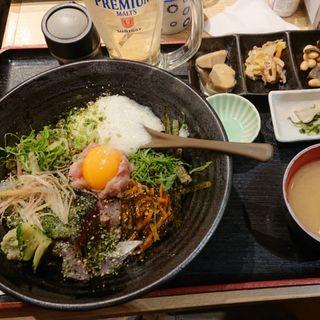 海鮮丼定食(スタンド 富)