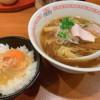 鶏薫る醤油六九麺(noodle kitchen 六九麺)