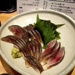 炙り〆鯖定食(ごはんや 飯すけ)