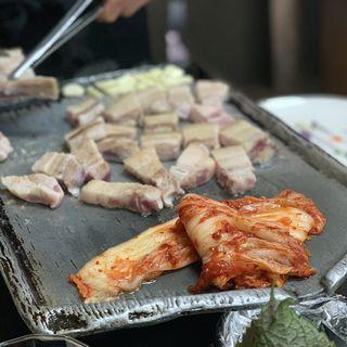 サムギョプサル(豚たん )