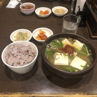 鱈チゲ(韓国田舎家庭料理 東光 )