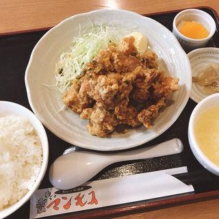 若鶏の唐揚げ 香味ソースがけ(ぐうぐうマンモス )