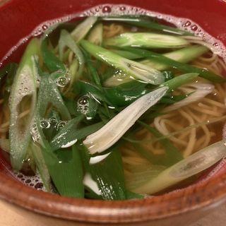 かけ蕎麦(信州そば むら田)