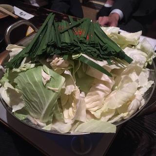 白味噌もつ鍋(京亀 )