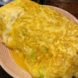 チーズオムレツ(焼き鳥なおじ)