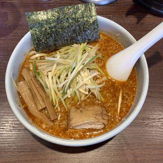 ねぎら〜麺(辛味噌変更)(二九八家 いわせ)