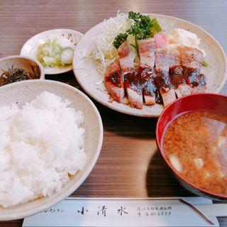 ポークソテー定食(レストラン小清水 )