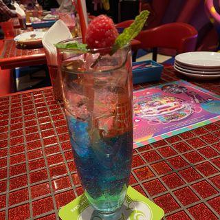 ジュエリーノンアルコールカクテルチアシード(KAWAII MONSTER CAFE HARAJUKU (カワイイ モンスター カフェ ハラジュク))