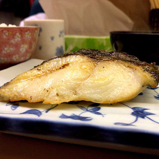 銀ダラ定食(食事処 ながもり)