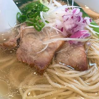 塩らぁ麺(支那蕎麦屋 藤花)