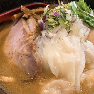 特製味噌ラーメン(麺処 秋もと)