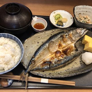 焼魚定食(旬菜 いまる)