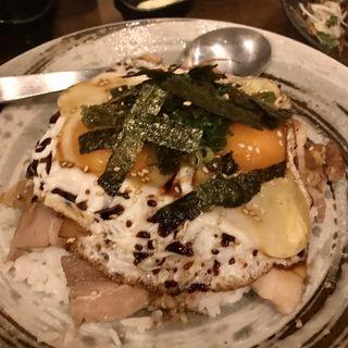 今治焼豚卵丼(コース料理)(媛 故郷味の旅 )