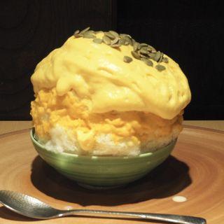 かぼちゃキャラメルナッツ(京氷菓 つらら)