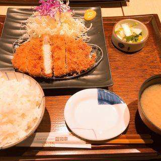 ロースかつ御飯(とんかつ 和幸 サブナード新宿店 (とんかつ わこう))
