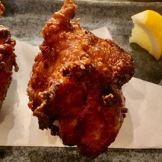 モモ肉ザンギ(北海道からあげの大衆酒場 三木谷商店)