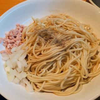 そのまま食べられる替え玉(麺屋 まほろ芭)