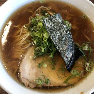 醤油ラーメン(支那そばや (シナソバヤ))