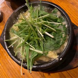 あっさり湯豆腐(串かつ ようこそ )
