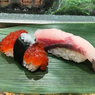 筋子、ハマチ(魚がし日本一 エキュート品川サウス店 )