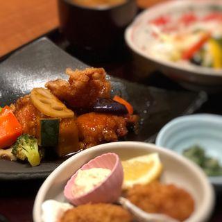 純輝鶏の黒酢和え(四六時中 猪名川店 )