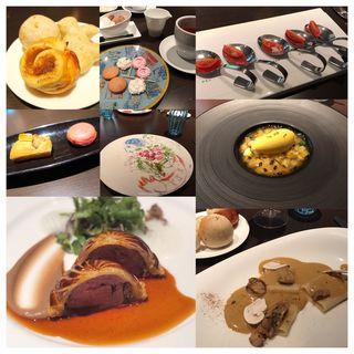 鴨のパイ包みがメインのコース(KEISUKE MATSUSHIMA (ケイスケ マツシマ【旧店名】レストラン アイ))