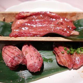 牛タン盛り(京の焼肉処 三条木屋町店)