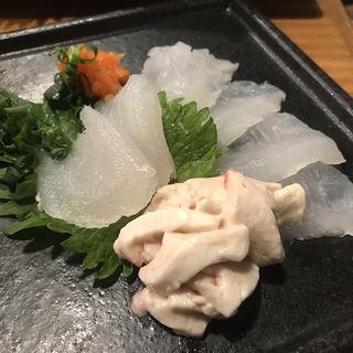 カワハギ刺身(魚真 新宿店 )