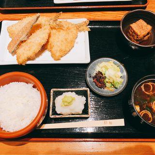 アジフライ定食(京ばし松輪 (きょうばしまつわ))