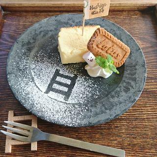チーズケーキ(Hashigo Cafe (ハシゴカフェ))