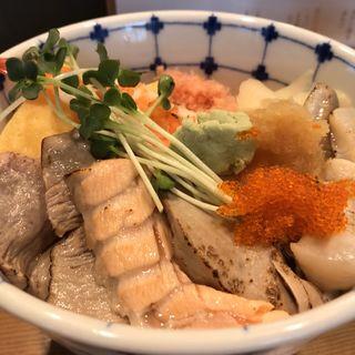 あぶり海鮮丼(寿司 鮪家(つなや))