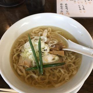 手打ちらあめん カツオ醤油(手打ち麺 やす田 )